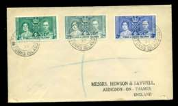 Turks & Caicos Is 1937 Coronation (faults) FDC Lot51696 - Turks And Caicos