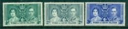 Turks & Caicos Is 1937 Coronation MLH - Turks And Caicos