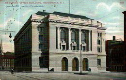 NEW POST OFFICE BUILDING PROVIDENCE - Providence