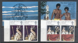 Turks & Caicos Is 1977 QEII Silver Jubilee Booklet Exploded MUH - Turks And Caicos