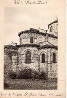 Volvic Belle Vue De L'Eglise Saint-Priest - Volvic