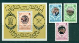 Turks & Caicos Is 1981 Charles & Diana Wedding + MS MUH Lot30279 - Turks And Caicos