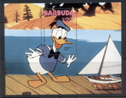 Turks & Caicos Is 1981 Disney Characters, Donald Duck MS MUH - Turks And Caicos