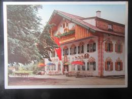 """Postkarte Postcard Gasthof Lambach """"Lieblingsaufenthalt Des Führers"""" - Photo Hoffmann - Etwas Fleckig - Deutschland"""
