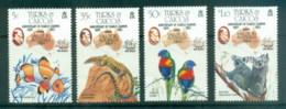 Turks & Caicos Is 1984 AUSIPEX, Koala Birds MUH - Turks And Caicos