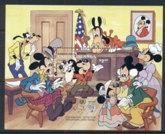 Turks & Caicos Is 1985 Disney, Tom Sawyer Detective MS MUH - Turks And Caicos