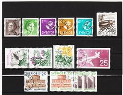ECK1043 SCHWEDEN 1987 Michl 1418/30 Gestempelt SIEHE ABBILDUNG - Schweden