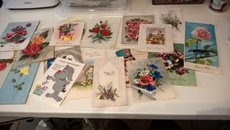 LOTS 20 CARTES POSTALES DEPLIANTES - Postcards