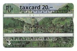 Svizzera - Tessera Telefonica Da 20 Units T573 - PTT - Paysages