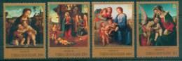 Turks & Caicos Is 1995 Xmas Paintings MUH - Turks And Caicos