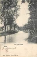 CPA Belgique Hainaut Mons Vue De La Trouille - Bergen - Ed. Nels Bruxelles Serie 6 No 6 Précuseur Circulé 1902 - Mons