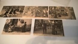 LOTS 5 CARTES POSTALES CECODI - Postcards