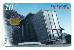Svizzera - Tessera Telefonica Da 10 Units T574 - Swisscom - Montagne