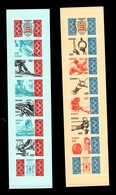 Monaco - Carnets YV 10 & 11 (aussi Numeros YV 1904 & 1905) N** Non Pliés Cote 26,50 Euros - Carnet