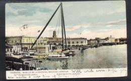 Caribbean Is 1907 Machina Harbour To Uk PPC (lot22292) - Cuba