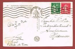 Zichtkaart  Stempel Paris Exposition De 1937; 2 Scan - Universal Expositions