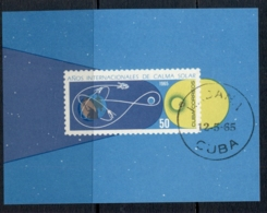 Caribbean Is 1965 Quiet Sun Year MS CTO - Cuba