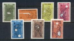 Caribbean Is 1966 Central American & Caribbean Games MUH - Cuba