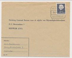 Treinblokstempel : Vlissingen - Roosendaal G 1968 - Periode 1891-1948 (Wilhelmina)