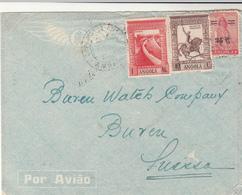 Angola / Airmail / Switzerland - Angola