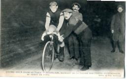 COURSE DES 6 JOURS DE PARIS       HOURLIER  GAGANT SUR PNEUS HUDCHINSON - Cyclisme