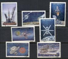Caribbean Is 1973 Soviet Space Program CTO - Cuba