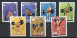 Caribbean Is 1973 Weightlifting CTO - Cuba