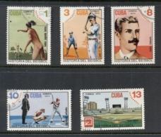 Caribbean Is 1974 Baseball CTO - Cuba