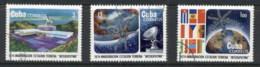 Caribbean Is 1974 Intersputnik Earth Satellite Space Station CTO - Cuba