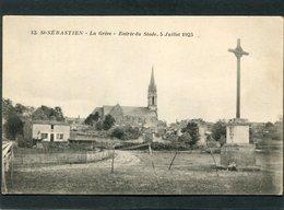 CPA - ST SEBASTIEN - La Grève - Entrée Du Stade, 5 Juillet 1925 - Saint-Sébastien-sur-Loire