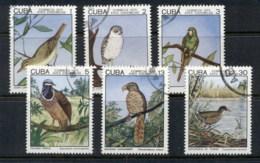 Caribbean Is 1975 Indigenous Birds CTO - Cuba