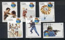 Caribbean Is 1977 Military Spartakiad CTO - Cuba