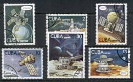 Caribbean Is 1978 Cosmonauts Day, Space Satellites CTO - Cuba