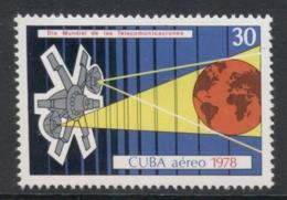 Caribbean Is 1978 World Telecommunication Day MUH - Cuba