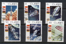 Caribbean Is 1979 Cosmonauts Day, Space Satellites CTO - Cuba