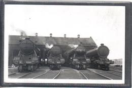 Photo Originale Railway London Haymarket L.N.E.R  2596;2573;2563,2404   Train Vapeur Locomotive - Trains