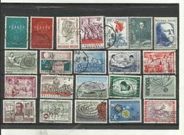 Lot De 22 Timbres De Belgique Année Diverses. - Stamps