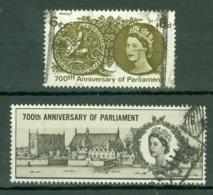 G.B.: 1965   700th Anniv Of Simon De Montfort's Parliament     Used - 1952-.... (Elizabeth II)