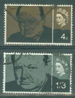 G.B.: 1965   Churchill Commemoration     Used - 1952-.... (Elizabeth II)