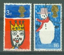 G.B.: 1966   Christmas  Used - 1952-.... (Elizabeth II)