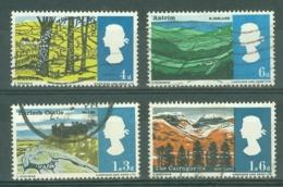G.B.: 1966   Landscapes     Used - 1952-.... (Elizabeth II)