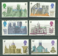 G.B.: 1969   British Architecture - Cathedrals  Used - 1952-.... (Elizabeth II)