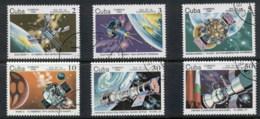 Caribbean Is 1984 Cosmonauts Day, Space Satellites CTO - Cuba