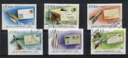 Caribbean Is 1989 Cosmonauts Day, Space Satellites CTO - Cuba