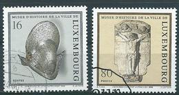 Luxemburg Michel Nr: 1454 - 1455 Gestempeld / Oblitérés - Luxemburg