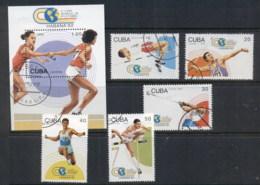 Caribbean Is 1992 Track & Field + MS MUH - Cuba
