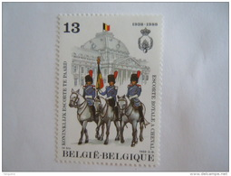 België Belgique 1988 Koninkljk Escorte Te Paard Escorte Royale à Cheval Porte-étendard Garde Cob Yv 2308 MNH ** - Belgique