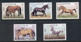 Caribbean Is 2005 Horses MUH - Cuba