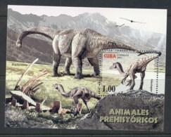 Caribbean Is 2005 Prehistoric Animals, Dinosaurs MS MUH - Cuba
