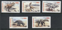 Caribbean Is 2005 Prehistoric Animals, Dinosaurs MUH - Cuba